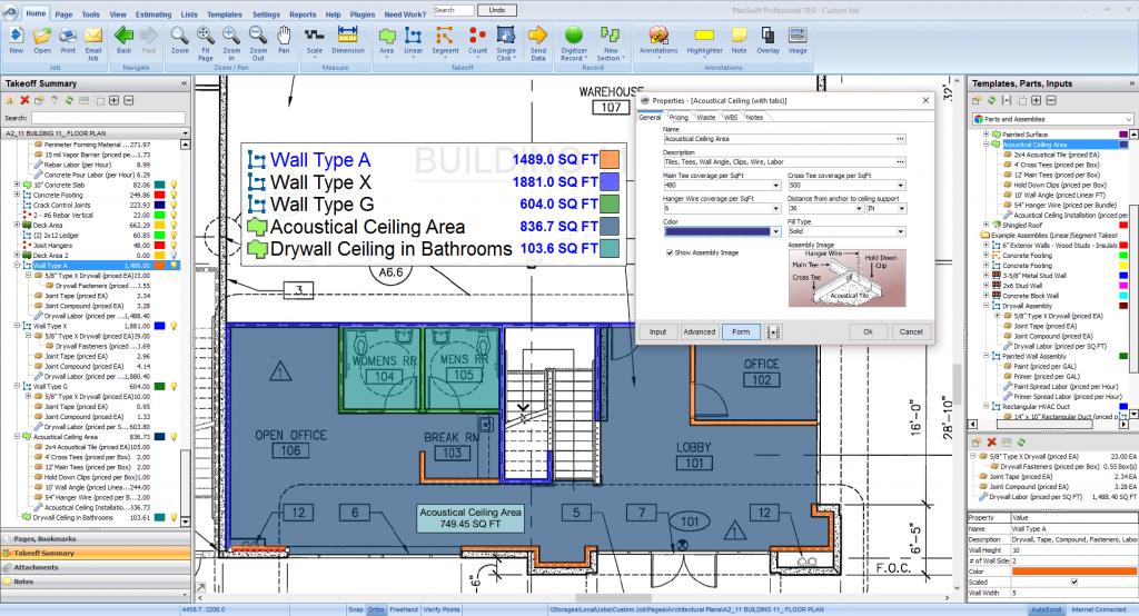 Construction estimating drywall construction estimating for Building estimator